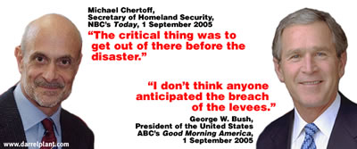 Chertoff vs. Bush