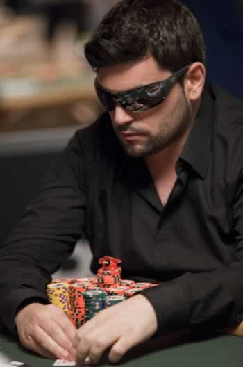 Tomer Berda at Event #5 of the 2010 World Series of Poker (photo from official WSOP site)