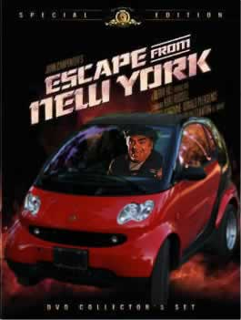Ernest Borgnine as 'Cabbie' in a special edition of 'Escape From New York'