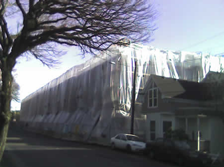 Wrapped Building