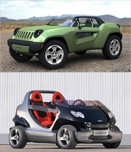 Jeep Renegade vs. smart crossblade