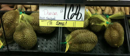 Durian for sale in SE Portland