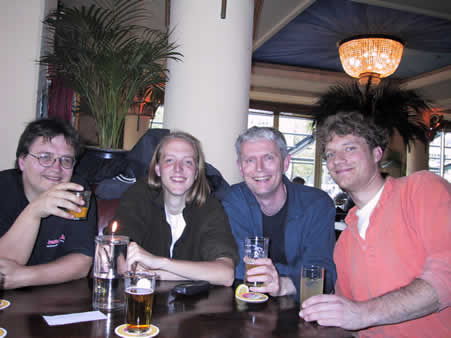 Dutch Director Developers at Cafe Zero?