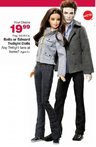 Bella and Edward Twilight Dolls