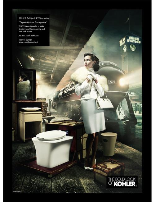 Kohler Fountainhead ad