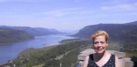 Barbara at Crown Point