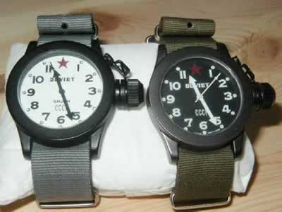 Gruen Soviet Watches / russianwatches.altervista.org