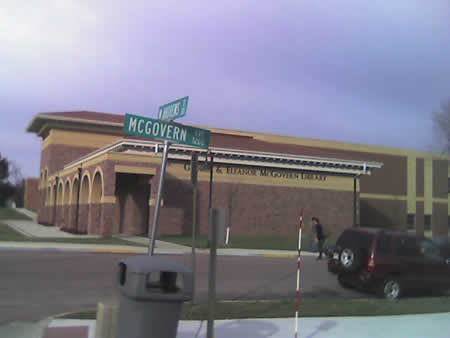 McGovern Avenue street sign