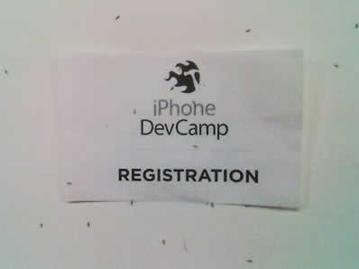 iPhoneDevCamp No-see-ums