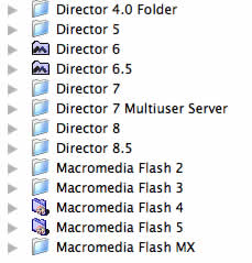 The Macromedia application graveyard