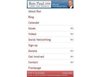 Paul iPhone application