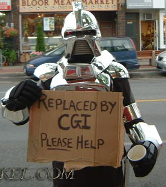 Cylon: Replaced by CGI