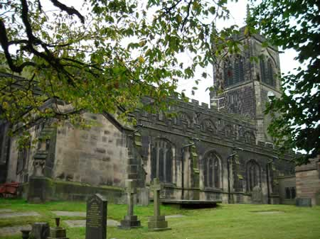 St. Mary's Church, Sandbach, Cheshire, United Kingdom
