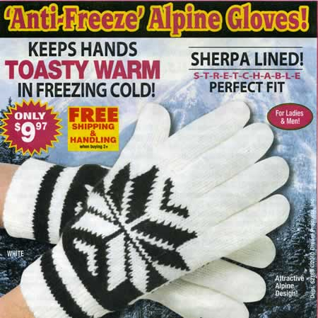 Sherpa Lined Gloves