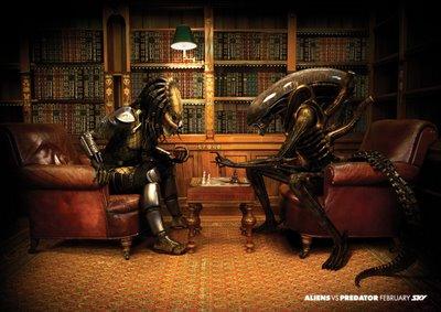 Predator vs. Alien Chess