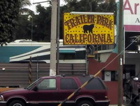 Trailer Park California, Av. Rafael Buelna, Mazatlan, Mexico