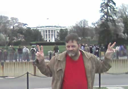 Darrel Plant at the White House